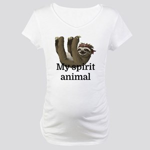 My Spirit Animal Maternity T-Shirt