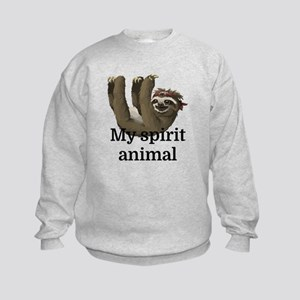 My Spirit Animal Kids Sweatshirt
