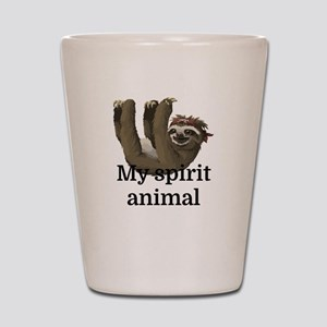 My Spirit Animal Shot Glass