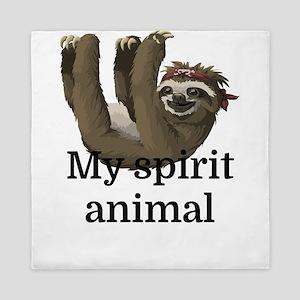 My Spirit Animal Queen Duvet