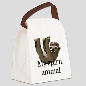 My Spirit Animal Canvas Lunch Bag
