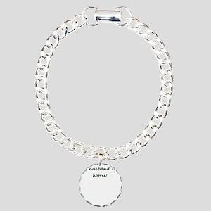 My Husband Is A Hottie! Charm Bracelet, One Charm