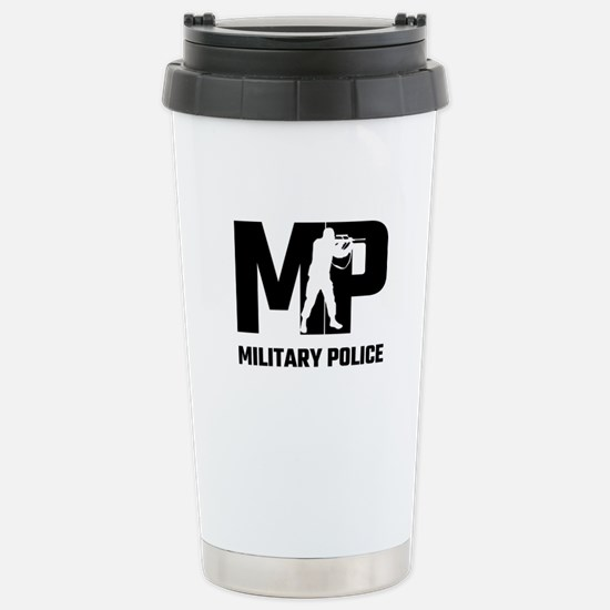 MP Military Police Stainless Steel Travel Mug