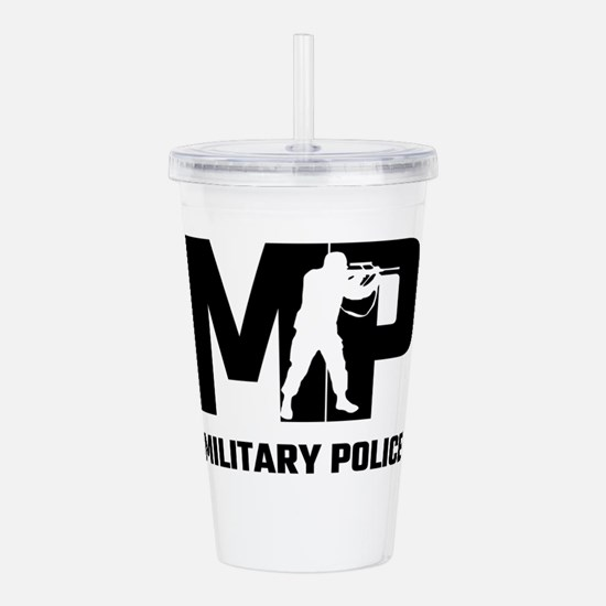 MP Military Police Acrylic Double-wall Tumbler