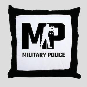 MP Military Police Throw Pillow