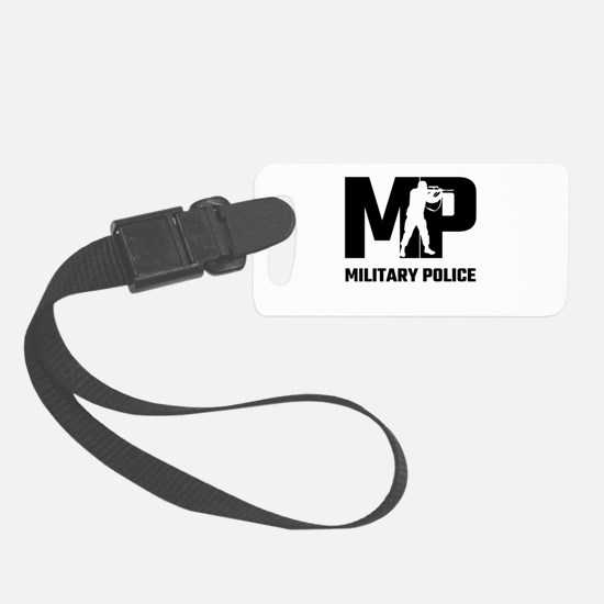 MP Military Police Luggage Tag