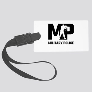MP Military Police Large Luggage Tag