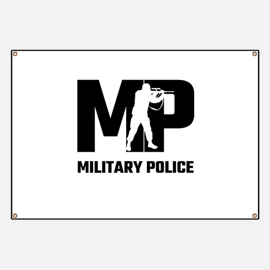 MP Military Police Banner