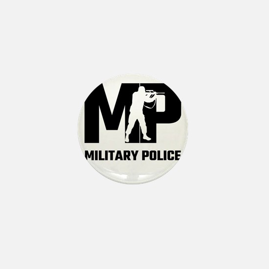 MP Military Police Mini Button