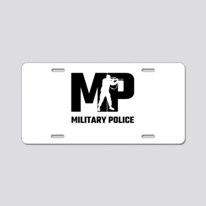 MP Military Police Aluminum License Plate