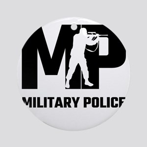 MP Military Police Round Ornament