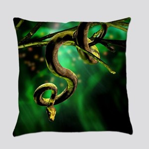 Python Snake Everyday Pillow