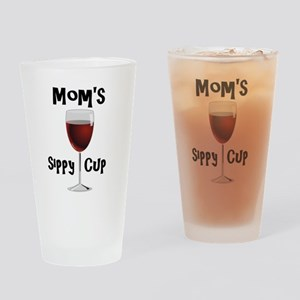 Mom's Sippy Cup Drinking Glass