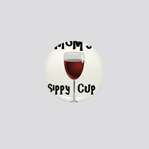 Mom's Sippy Cup Mini Button