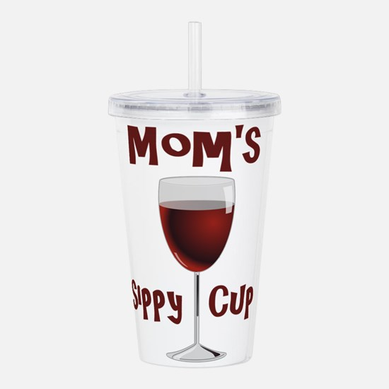 Mom's Sippy Cup Acrylic Double-wall Tumbler