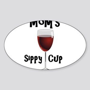 Mom's Sippy Cup Sticker