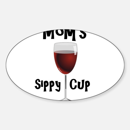 Mom's Sippy Cup Decal