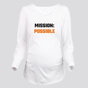 Mission: Possible Long Sleeve Maternity T-Shirt