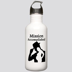 Mission Accomplished Stainless Water Bottle 1.0L