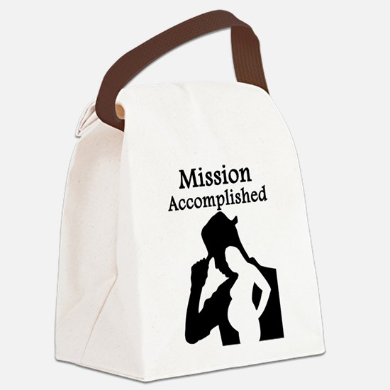 Mission Accomplished Canvas Lunch Bag