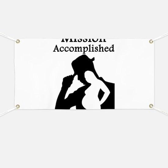 Mission Accomplished Banner