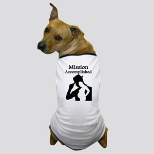 Mission Accomplished Dog T-Shirt