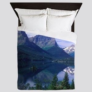 Montana Mountains Queen Duvet