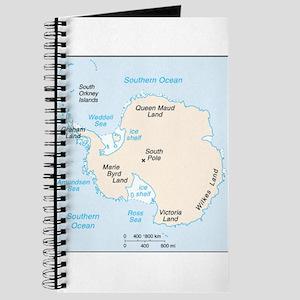Antarctica Map Journal