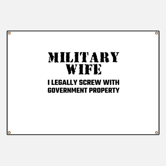 Military Wife Banner