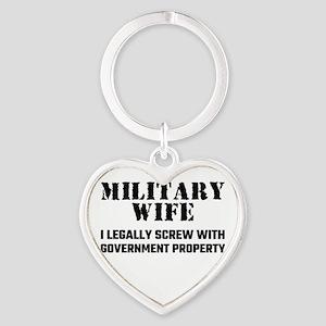 Military Wife Keychains