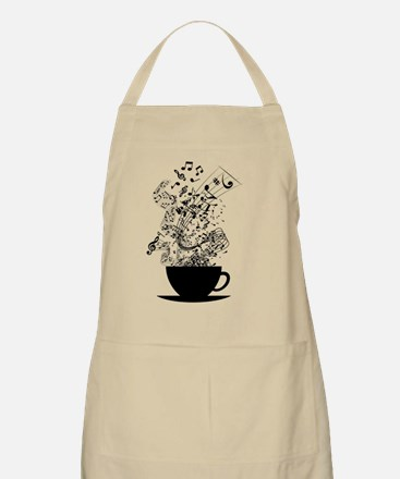Cup of Music Apron
