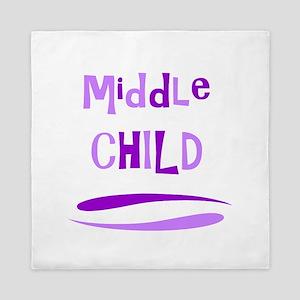 Middle Child Queen Duvet