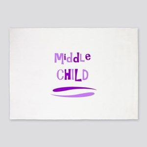 Middle Child 5'x7'Area Rug