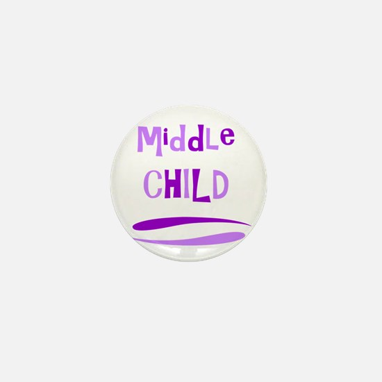 Middle Child Mini Button