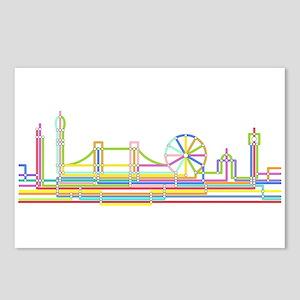London Skyline Postcards (Package of 8)