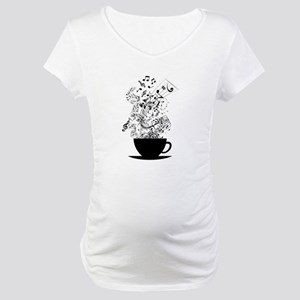 Cup of Music Maternity T-Shirt