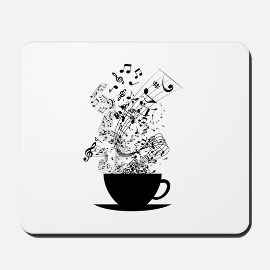 Cup of Music Mousepad