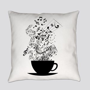 Cup of Music Everyday Pillow