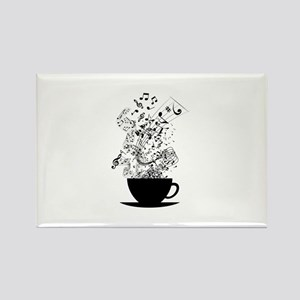 Cup of Music Magnets