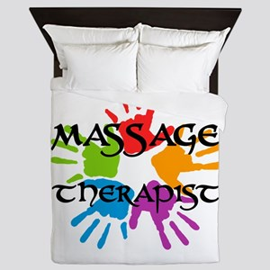 Massage Therapist Queen Duvet