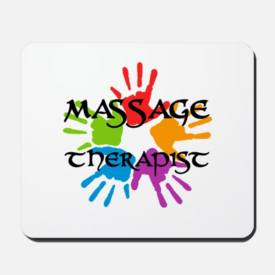 Massage Therapist Mousepad