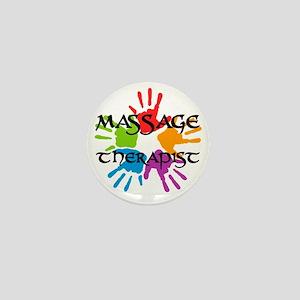 Massage Therapist Mini Button
