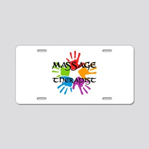 Massage Therapist Aluminum License Plate