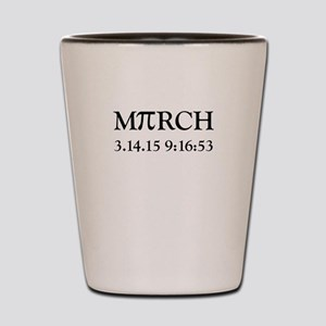 March 3.14.15 Pi Day Shot Glass