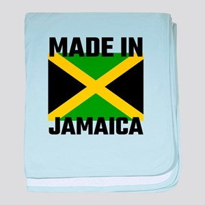 Made In Jamaica baby blanket