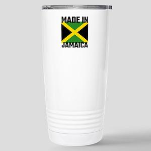 Made In Jamaica Stainless Steel Travel Mug