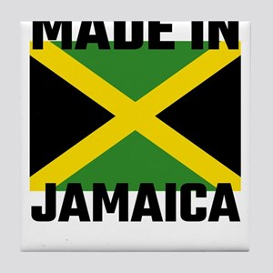 Made In Jamaica Tile Coaster