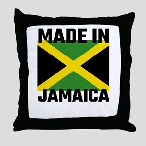 Made In Jamaica Throw Pillow