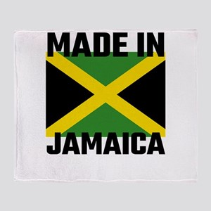 Made In Jamaica Throw Blanket