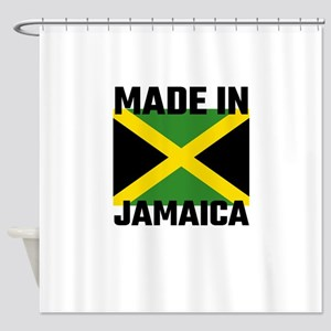 Made In Jamaica Shower Curtain